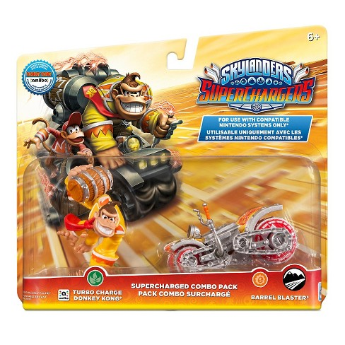 Skylanders SuperChargers SuperCharged Combo Pack - Donkey Kong + Barrel Blaster - image 1 of 8