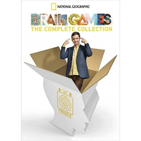 National Geographic Brain Games: The Complete Collection (DVD)