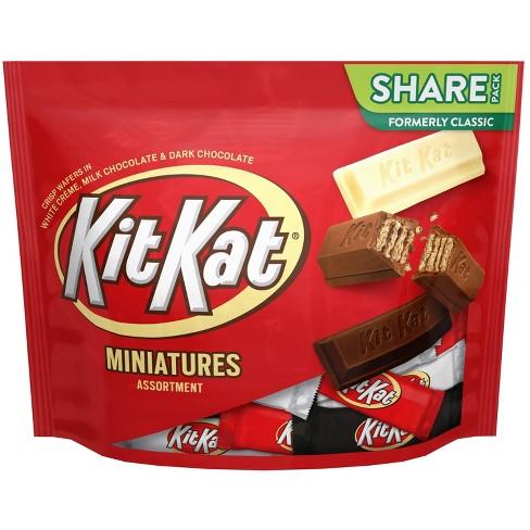 Kit Kat Assorted Miniatures Chocolate Candy - 10.1oz - image 1 of 4