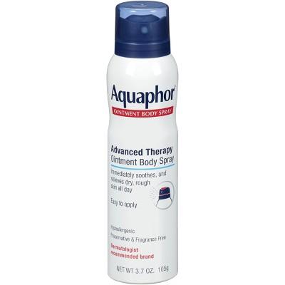 Aquaphor Ointment Body Spray & Dry Skin Relief - 3.7oz