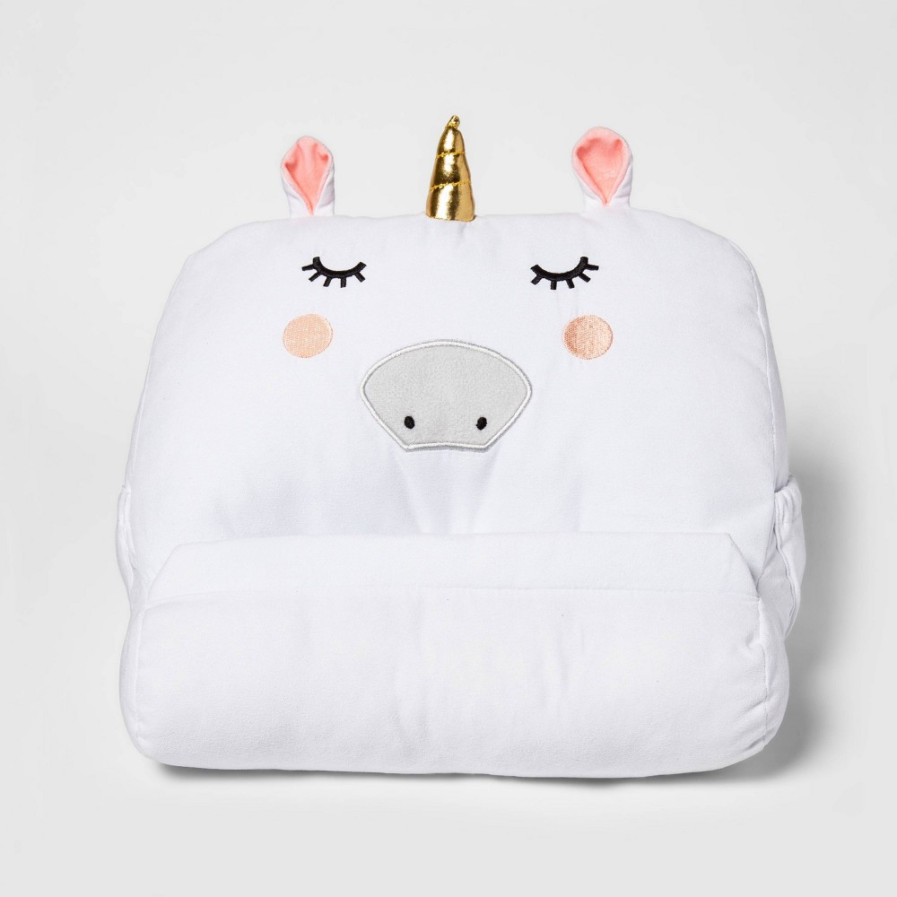 Image of Unicorn Tablet and Book Buddy - Pillowfort , White
