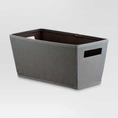 Fabric Quarter Bin - Gray - Threshold™