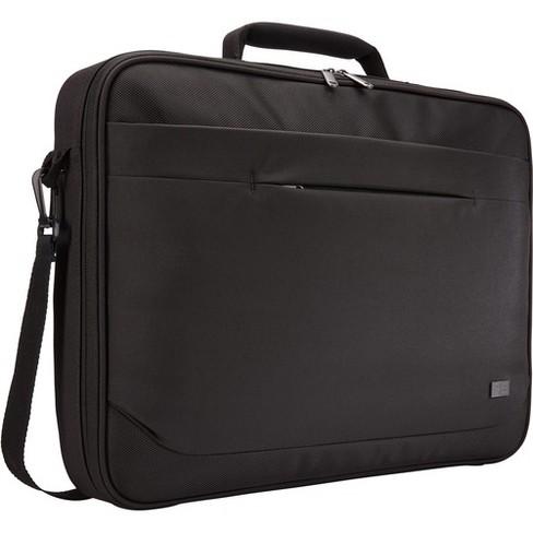 "Case Logic Advantage ADVB-117 BLACK Carrying Case (Briefcase) for 17.3"" Notebook - Black - Polyester - Handle, Shoulder Strap, Luggage Strap - image 1 of 4"