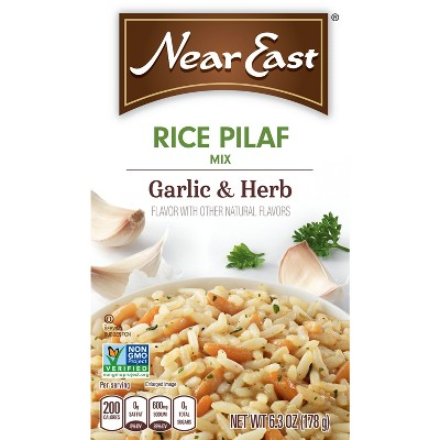 Near East Garlic & Herb Pilaf Mix Rice - 6.3oz
