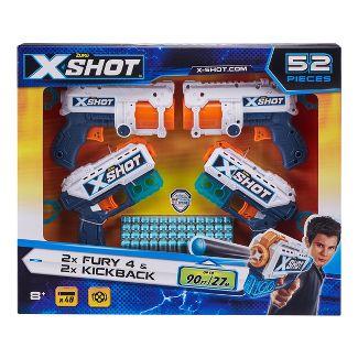 Zuru X-Shot Excel Four Pack Blasters