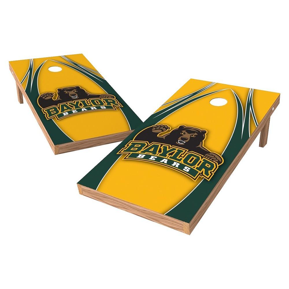Baylor Bears Wild Sports 2' x 4' V Logo Design Authentic Cornhole Set