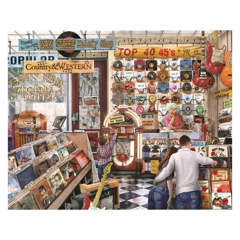 Springbok The Melody Shop Puzzle 1000pc - image 1 of 2