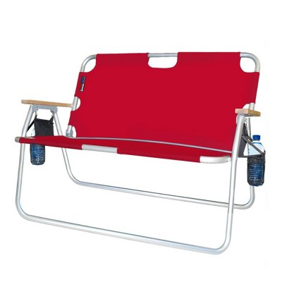 Tailgater Two Person Folding Aluminum Chair - Algoma