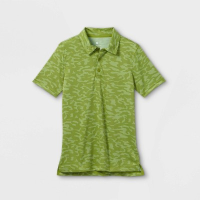 Boys' Printed Golf Polo Shirt - All in Motion™