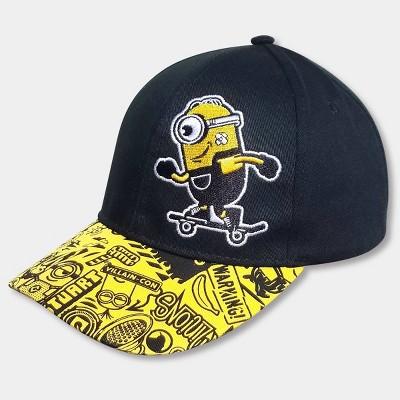 Boys' Minions Hat - Black