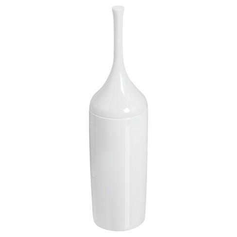 Toilet Bowl Brush White - iDESIGN - image 1 of 4