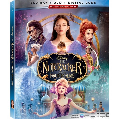 Nutcracker and the Four Realms(Blu-Ray + DVD + Digital) - image 1 of 1