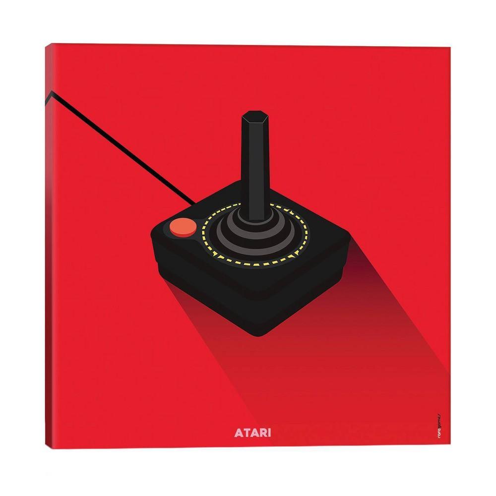 18 34 X 18 34 Joystick Atari By Rafael Gomes Unframed Wall Canvas Print Icanvas