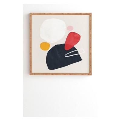 Tracie Andrews Alaya Framed Wall Art Black - society6