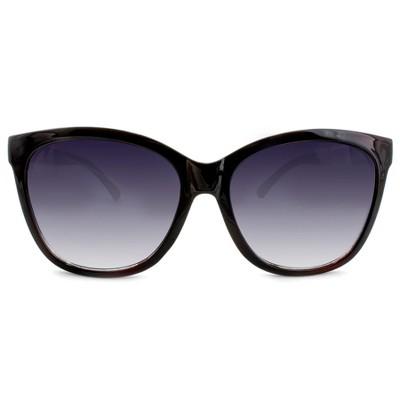Women's Square Sunglasses - A New Day™ Black