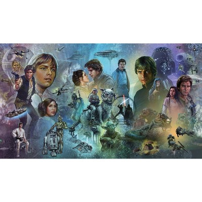 Star Wars Original Trilogy Peel and Stick Wall Mural - RoomMates