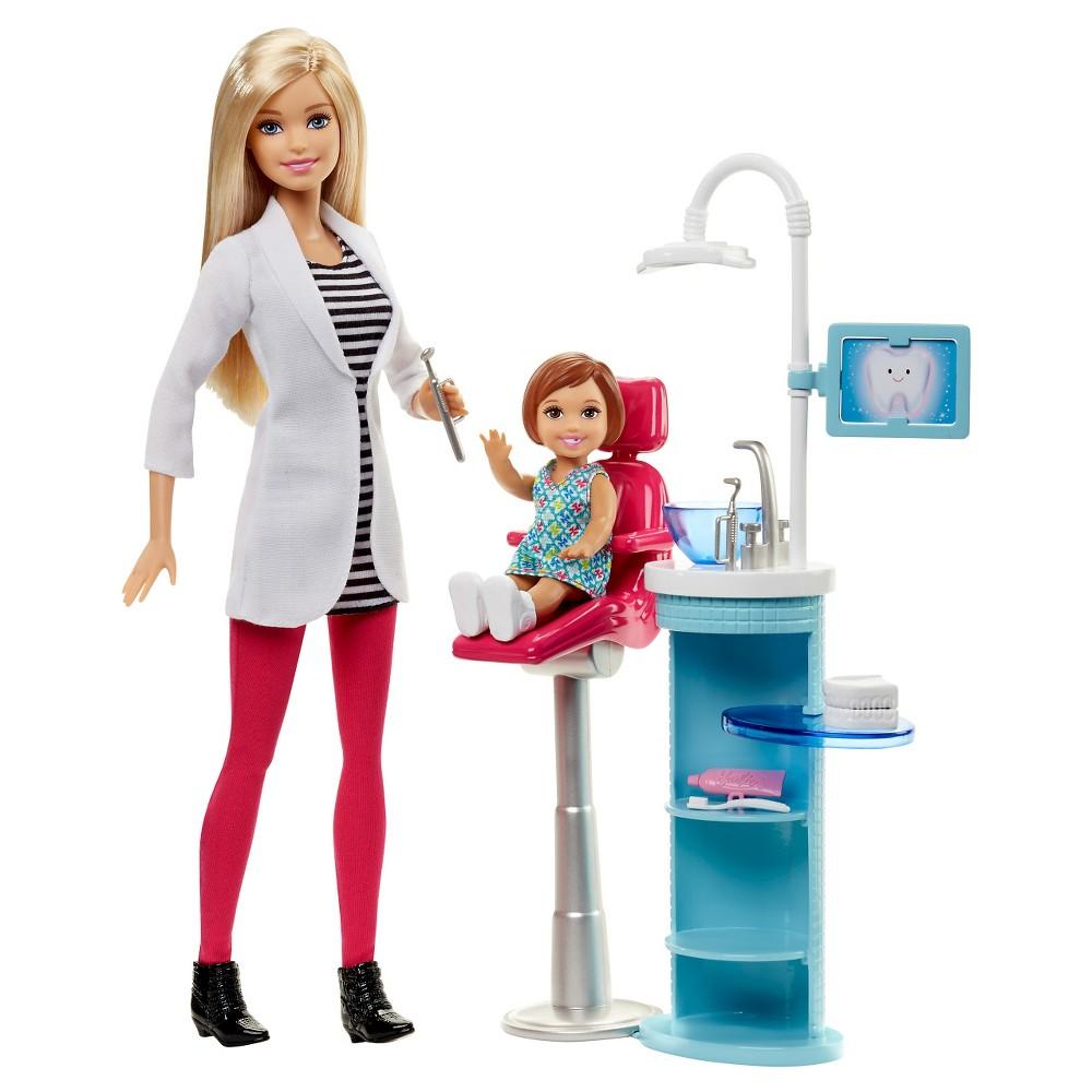 Barbie Careers Dentist Doll & Playset