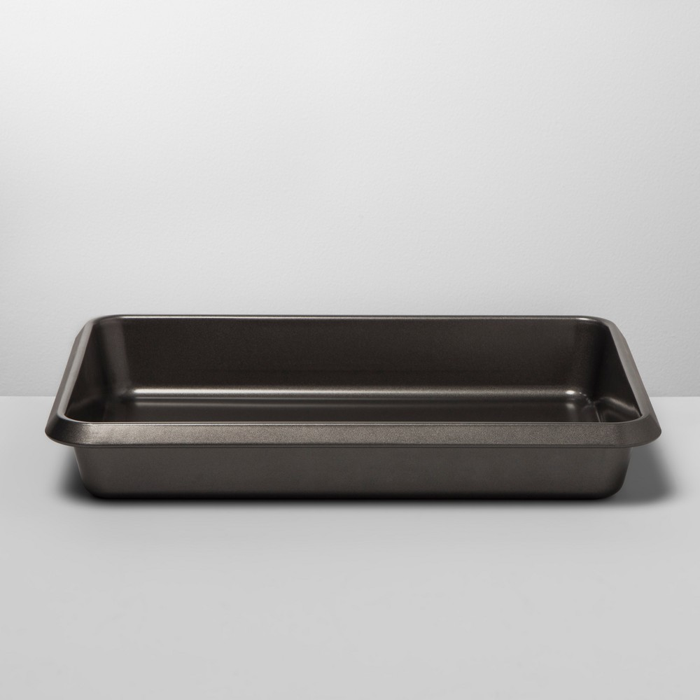 """Image of """"9"""""""" x 13"""""""" Non-Stick Cake Pan Carbon Steel - Made By Design , Gray"""""""
