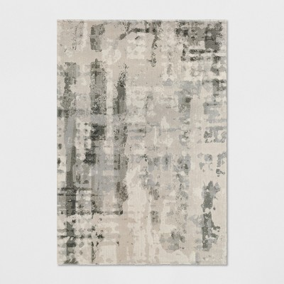 5'X7' Opus Marble Area Rug Ivory/Gray - Project 62™