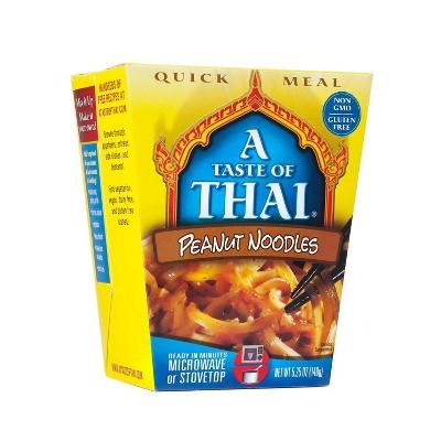 Taste of Thai Gluten Free and Vegetarian of Thai Peanut Noodles - 5.25oz