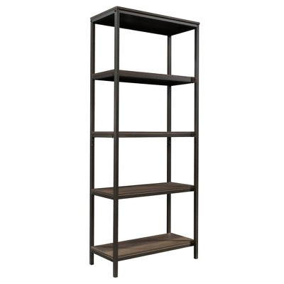 "56"" North Avenue Tall Bookshelf Smoked Oak Finish - Sauder"