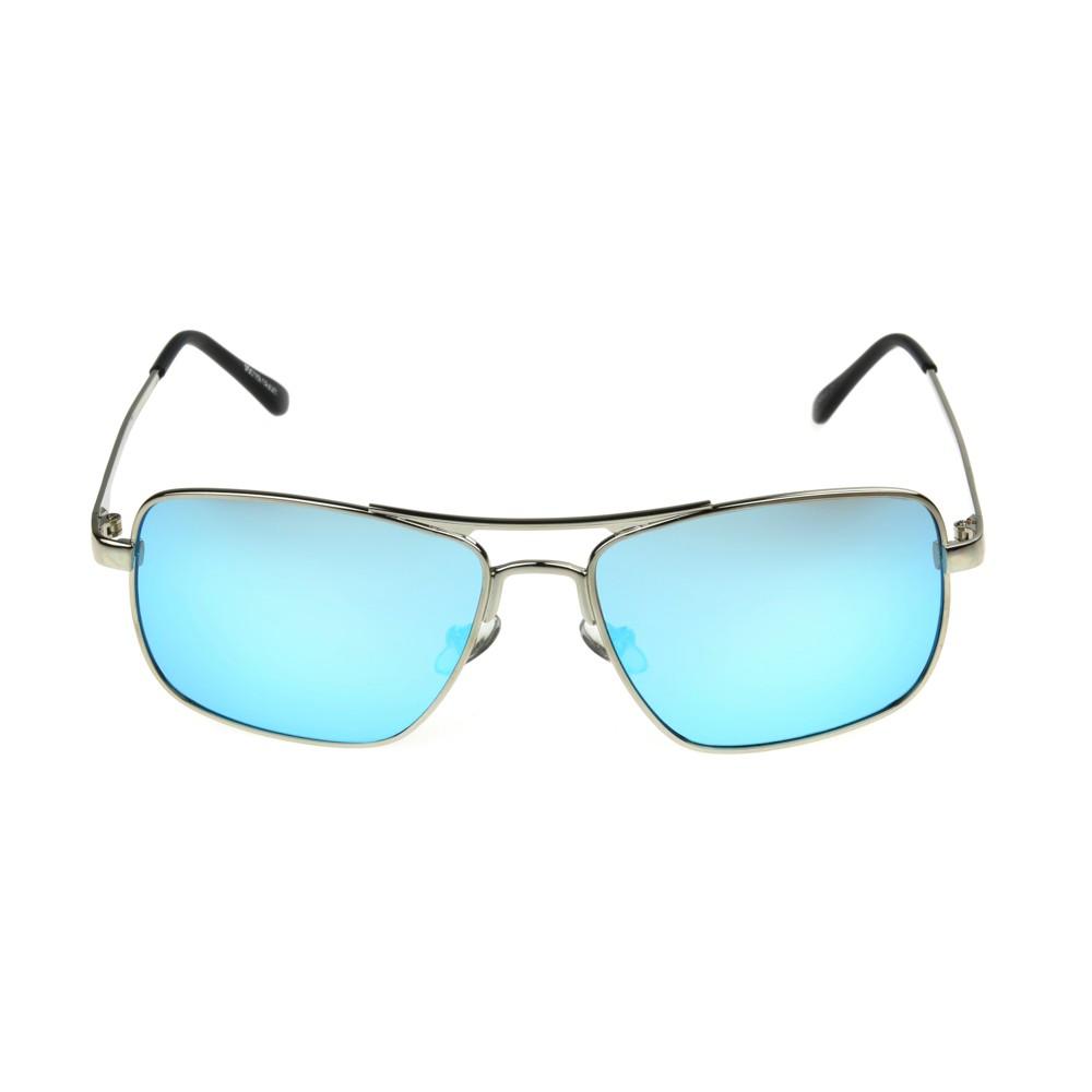 Men's Square Sunglasses - Goodfellow & Co Light Silver