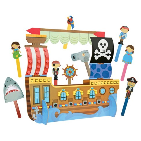 Stephen Joseph Puppet Craft and Playsets - Pirate - image 1 of 3