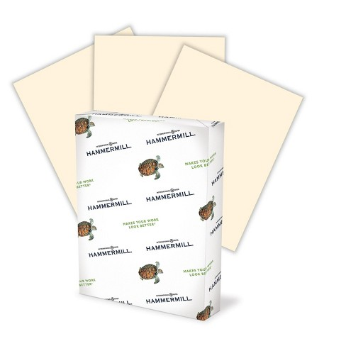 """Hammermill Colors Multipurpose Paper 20 lbs 11"""" x 17"""" Ivory 500/Ream (102194) 640189 - image 1 of 1"""