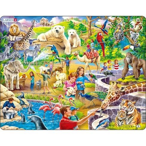 Jigsaw Puzzle: Fun Zoo Animals