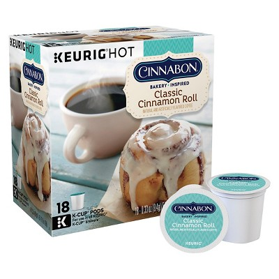 Coffee Pods: Cinnabon