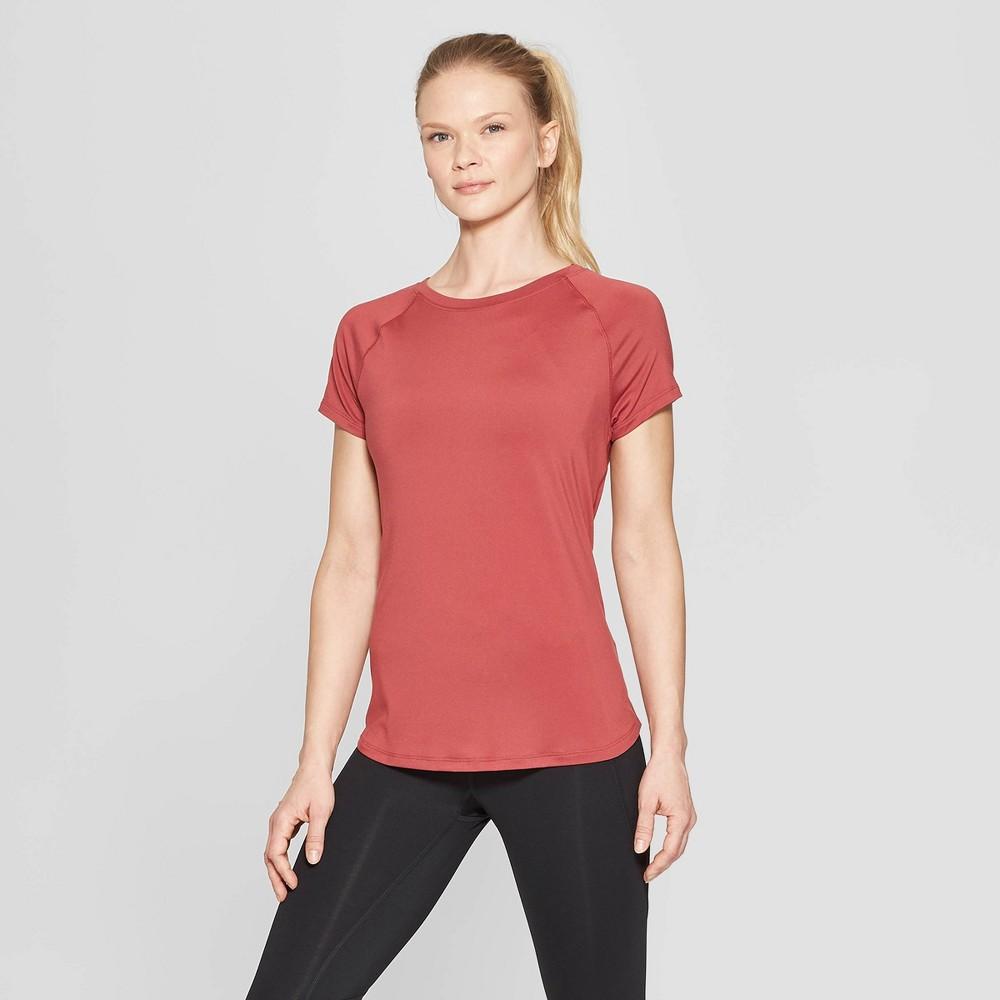 Women's Short Sleeve Soft T-Shirt - C9 Champion Brick Red XL