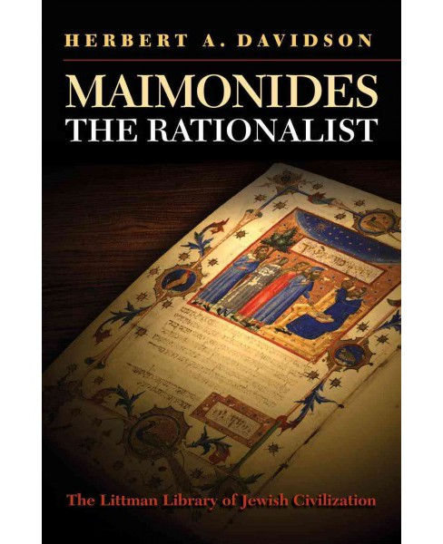 Maimonides the Rationalist (Paperback) (Herbert A. Davidson) - image 1 of 1
