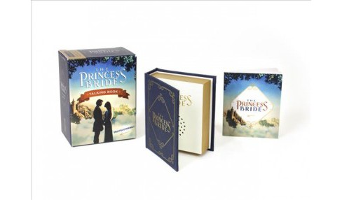 Princess Bride Talking Book : Deluxe Mega Kit -  (Miniature Editions) (Hardcover) - image 1 of 1