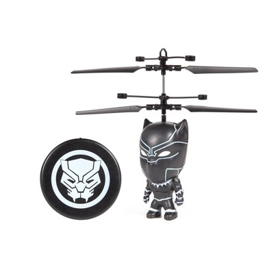 "World Tech Toys Marvel Black Panther  3.5""  Flying Figure IR Helicopter"