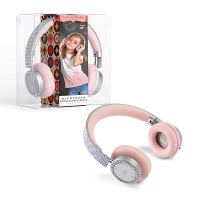 FAO Schwarz Bling Tunes Rhinestone Bluetooth Headphones