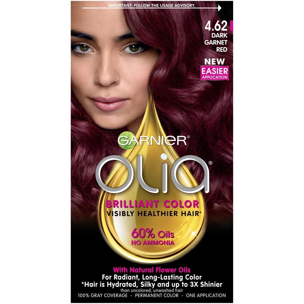 Garnier Olia Brilliant Color - 4.62 Dark Garnet Red