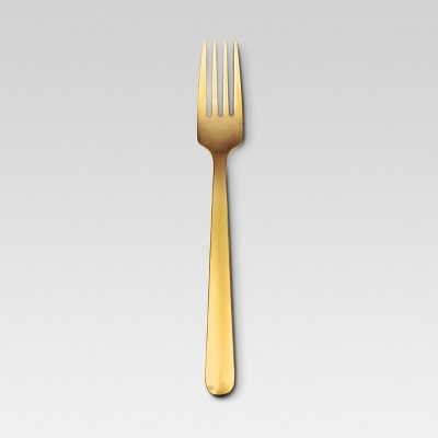 Graham Dinner Fork Stainless Steel Gold - Threshold™