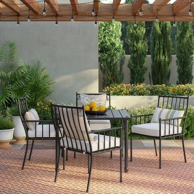 Fernhill 5pc Patio Dining Set - White - Threshold™