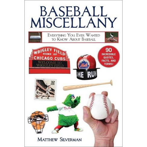 Baseball Miscellany - (Books of Miscellany) by  Matthew Silverman (Paperback) - image 1 of 1