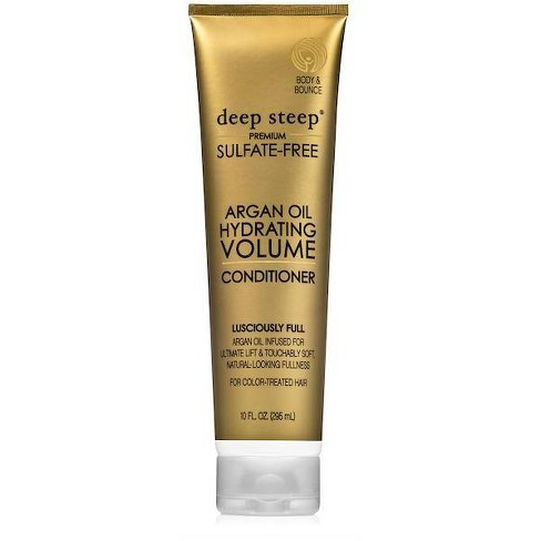 Deep Steep Argan Hydrating Volume Conditioner - 10 fl oz - image 1 of 4