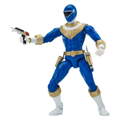 Power Rangers Zeo Blue Ranger Legacy Figure - image 1 of 4