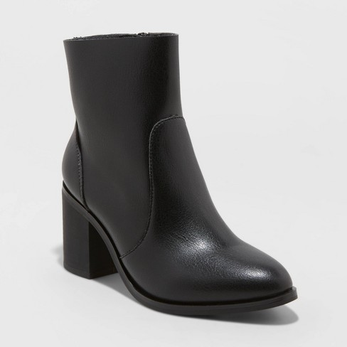 Women's Cleo Heeled Ankle Bootie - Universal Thread™ - image 1 of 3