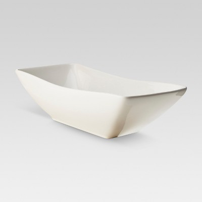 Porcelain Swerve Serving Bowl - Threshold™