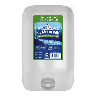 Ice Mountain Brand 100% Natural Spring Water - 2.5 gal Jug