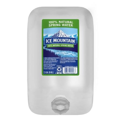 Ice Mountain Brand 100% Natural Spring Water - 2.5 gal Jug - image 1 of 4
