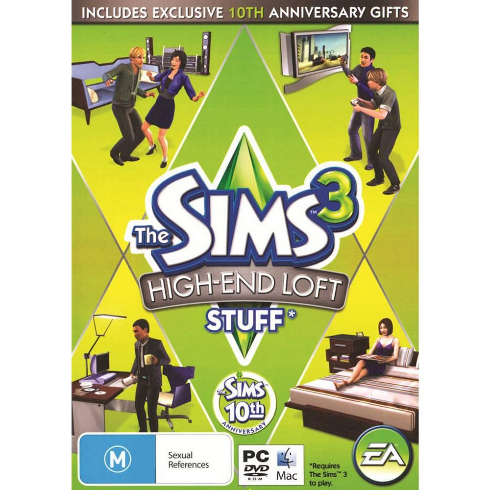 The Sims 3: High-End Loft Stuff - PC Game (Digital)