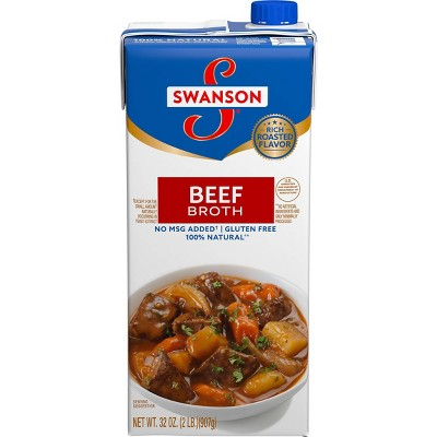 Swanson 100% Natural Beef Broth 32oz