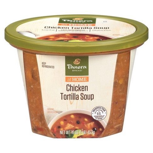 Panera Bread Soups Low-Fat Chicken Tortilla Soup - 16oz - image 1 of 3