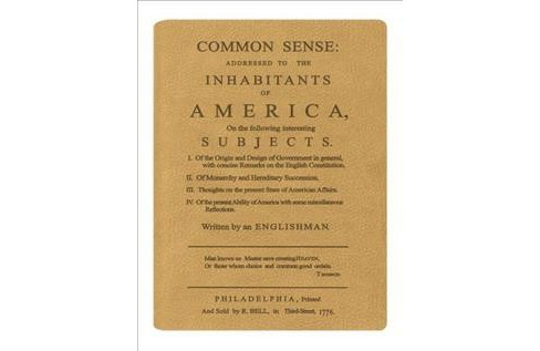 Common Sense : Gold Lined Journal (Hardcover) - image 1 of 1