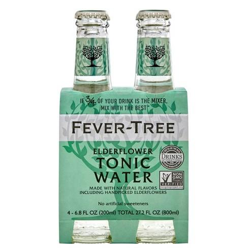 Fever-Tree Elderflower Tonic Water - 4pk/200ml Bottles - image 1 of 3